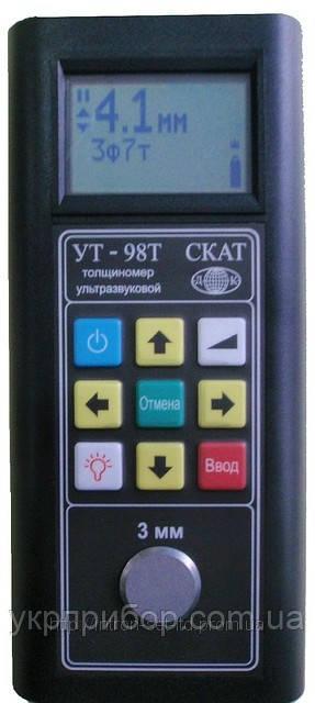 Толщиномер ультразвуковой УТ-98Т «СКАТ»