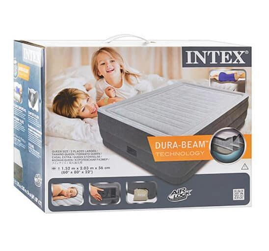 Надувная кровать Intex 64418 (203-152-56см)