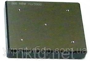 МТБ - Міра Твердості Брінелля HB: 400±50 / навантаження 3000