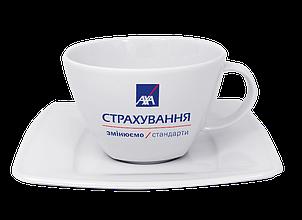 Чашка с блюдцем чайная 280 мл, фото 2