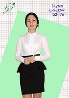 Блуза школьная для девочки 3247