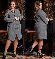 Платье - пальто / букле / Украина 36-03879, фото 1