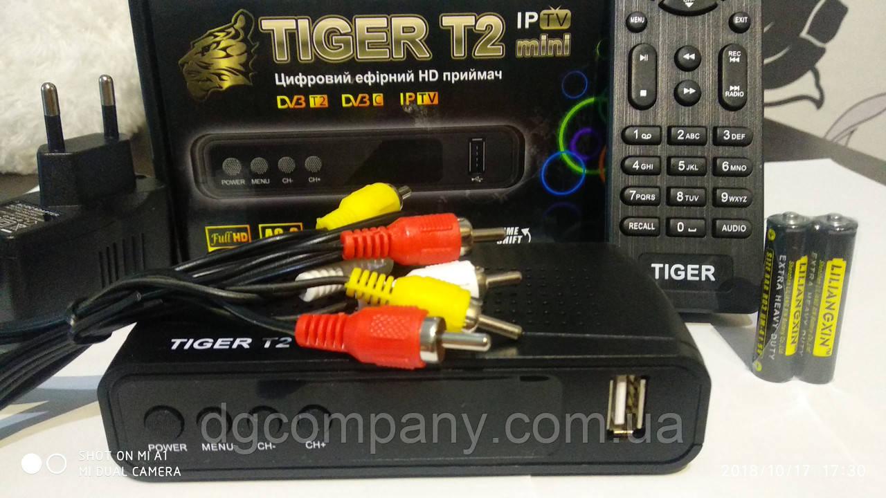 Тюнер Т2 Tiger IPTV mini