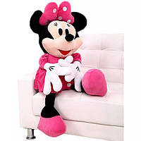 Мягкая игрушка  Дисней Минни Маус розовая , 60 см
