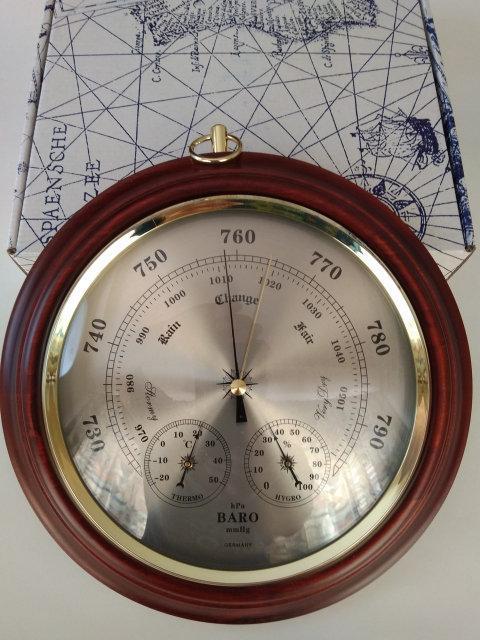 """Барометр , гигрометр , термометр """"Бриг+"""""""