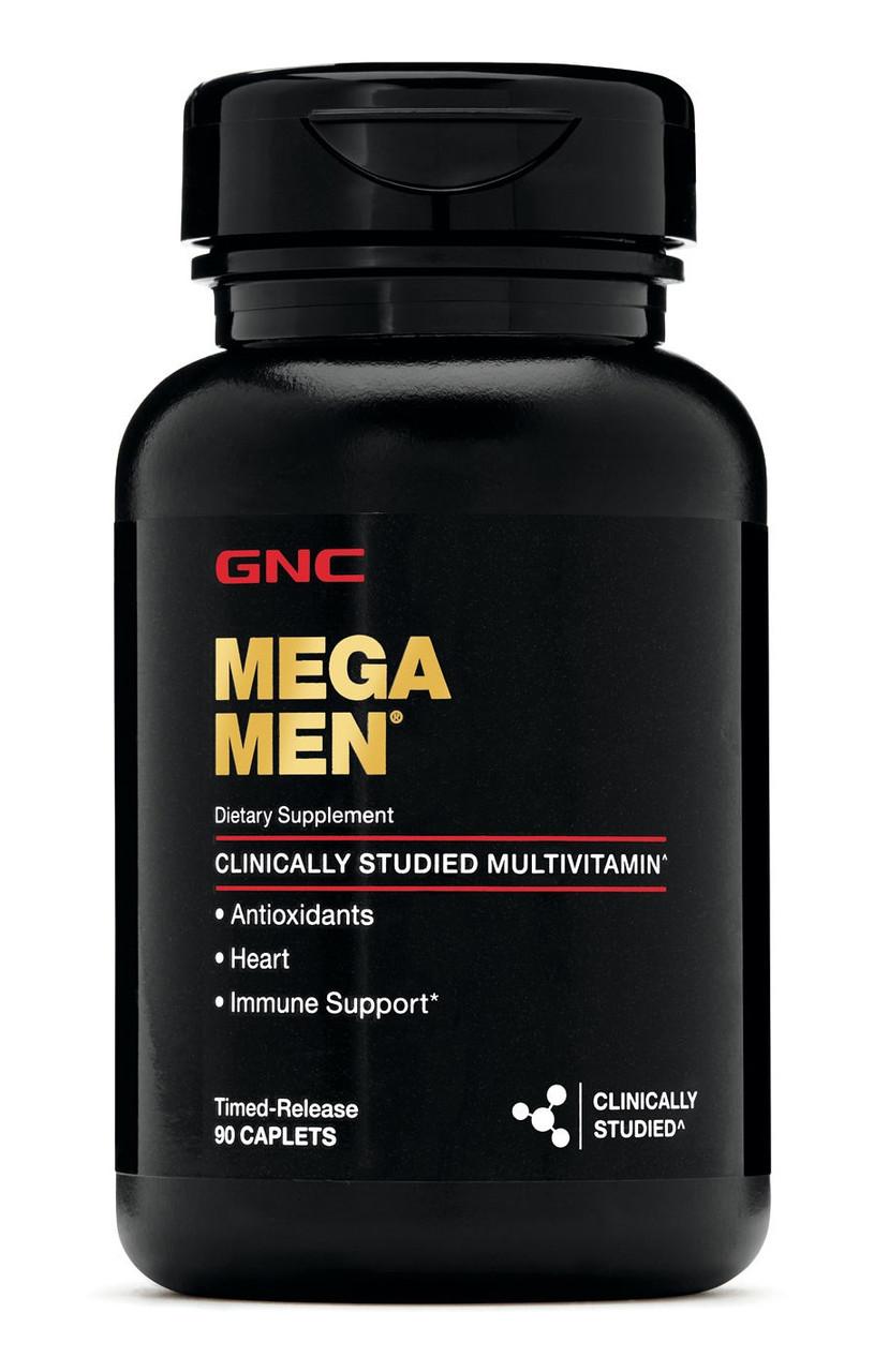 Витамины GNC Mega Men 90 caps, ЖНС Мега Мен 90 капсул
