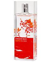 Armand Basi Happy in Red 100ml edt (энергичный, жизнерадостный аромат бесконечного счастья)