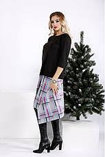 Новинка! платье женское демисезонное стильное большие размеры 42-74, фото 3
