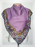 Кашемировые платки Турецкий мотив, сиреневый