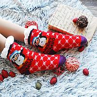 Підросткові теплі шкарпетки (на флісі) оптом