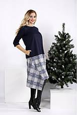 Новинка! платье женское демисезонное стильное большие размеры 42-74, фото 2