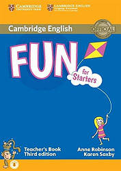 Fun for Starters Third Edition Teacher's Book with Downloadable Audio