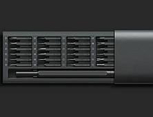 Набор инструментов Xiaomi Mijia Wiha Screwdriver Set + 24 насадки (Dark Grey), фото 2