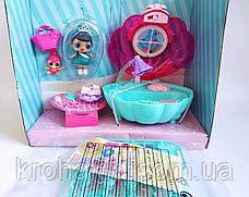 Игровой набор P.O.P. | L.O.L. джакузи с куколками Лол QL053-1 / Лол ракушка / аналог QL053-1, фото 2