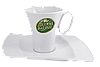 Чашка амеркиано с блюдцем 200 мл