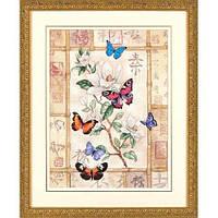 Набор для вышивки крестом Dimensions 35063 «Сверкающая бабочка»