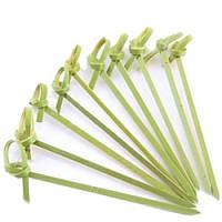 Палочки бамбуковые с узелком 11 см., 50 шт/уп