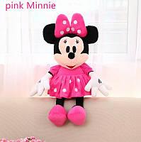 Мягкая игрушка  Дисней Минни Маус розовая , 45 см