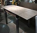 Стол обеденный Марсель 90(+35+35)*70  орех - Шервуд, фото 2