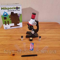 Детский Микроскоп С Набором Для Исследования Ps, Микроскоп Детский