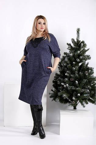 Плаття жіноче демісезонне великі розміри 42-74, фото 2