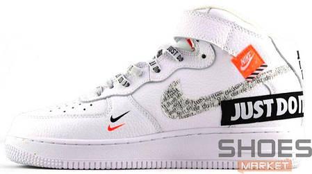 35872add Мужские кроссовки Nike Air Force 1 Hi Just Do It White купить в ...