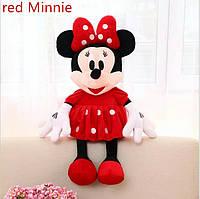 Мягкая игрушка  Дисней Минни Маус красная , 45 см