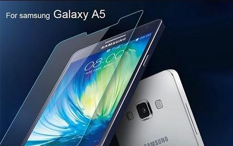 Защитное стекло на Samsung A5 А500 2015год в упаковке