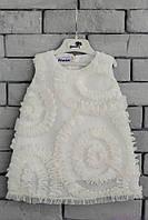 Праздничное нарядное детское платье код: 7002, размеры: от 80 до 116