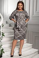 Платье с поясом размер 50-58, фото 1