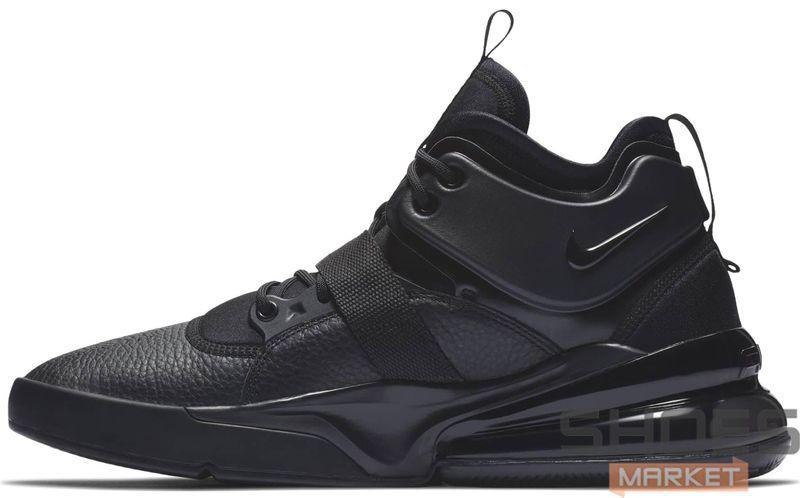 Женские кроссовки Nike Air Force 270 Triple Black AH6772-010, Найк Аир Форс