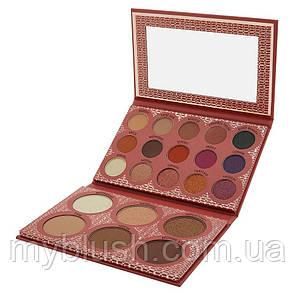 Палетка для лица BH Cosmetics Its My Raye Raye - 21 Color Eyeshadow, Highlighter & Contour
