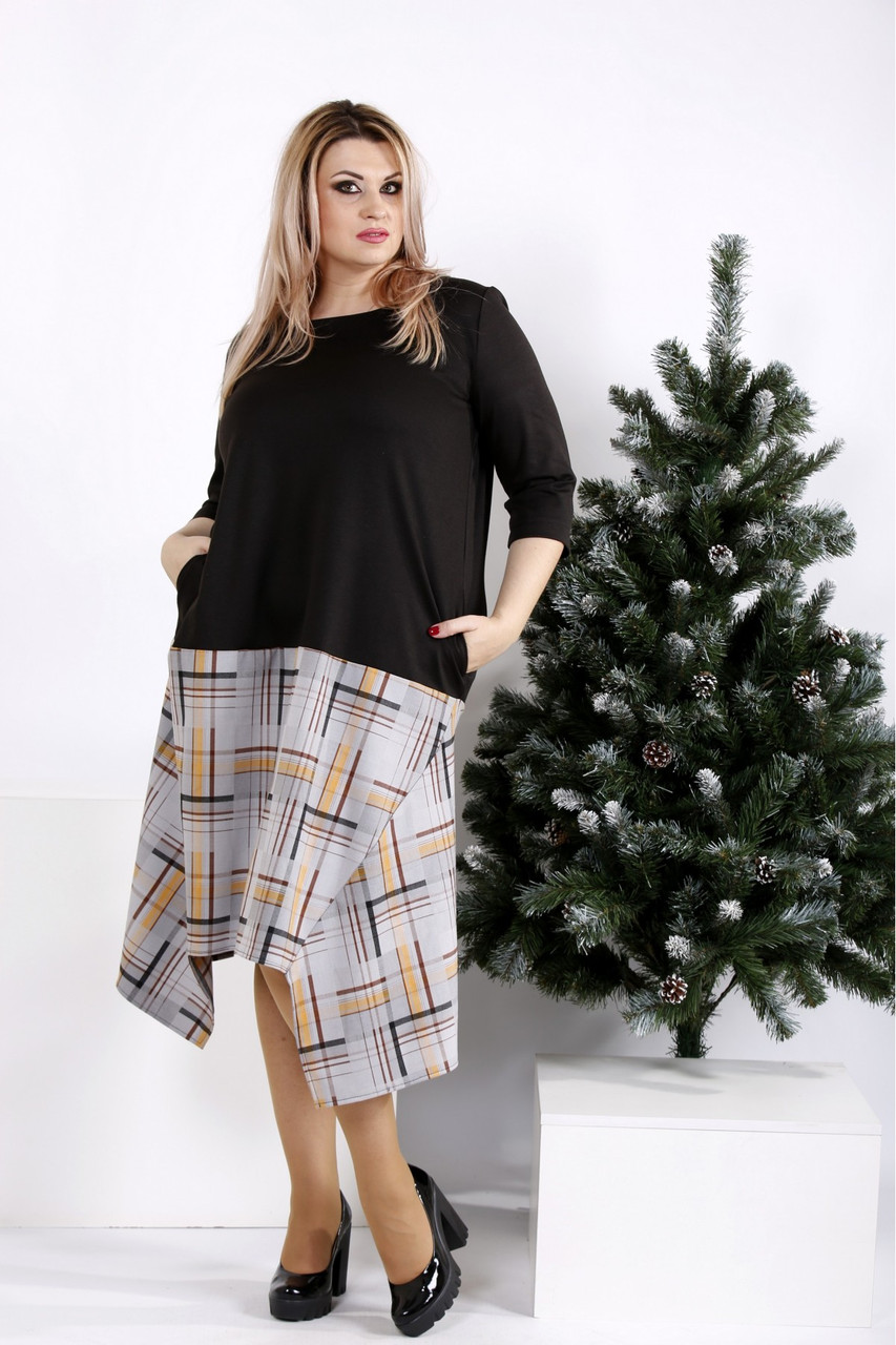 Новинка! платье женское демисезонное стильное большие размеры 42-74