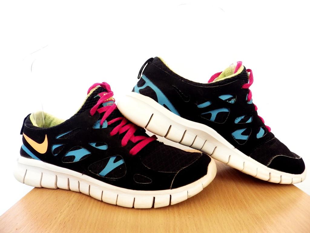 Кроссовки беговые Nike Free Run 2 GS100% ОРИГИНАЛ р-р 36,5 (23,5см) (Б/У, СТОК) original лёгкие сетка