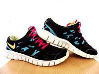Кроссовки беговые Nike Free Run 2 GS100% ОРИГИНАЛ р-р 36,5 (23,5см) (Б/У, СТОК) original лёгкие сетка, фото 1