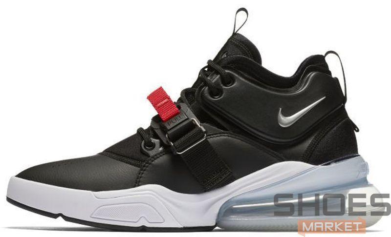 Женские кроссовки Nike Air Force 270 Black White AH6772-001, Найк Аир Форс