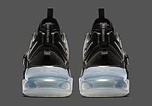 Женские кроссовки Nike Air Force 270 Black White AH6772-001, Найк Аир Форс, фото 3