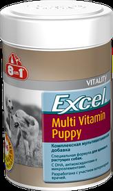 8in1 Excel Multi-Vitamin Puppy Эксель Мультивитамины для щенков, 100 таб