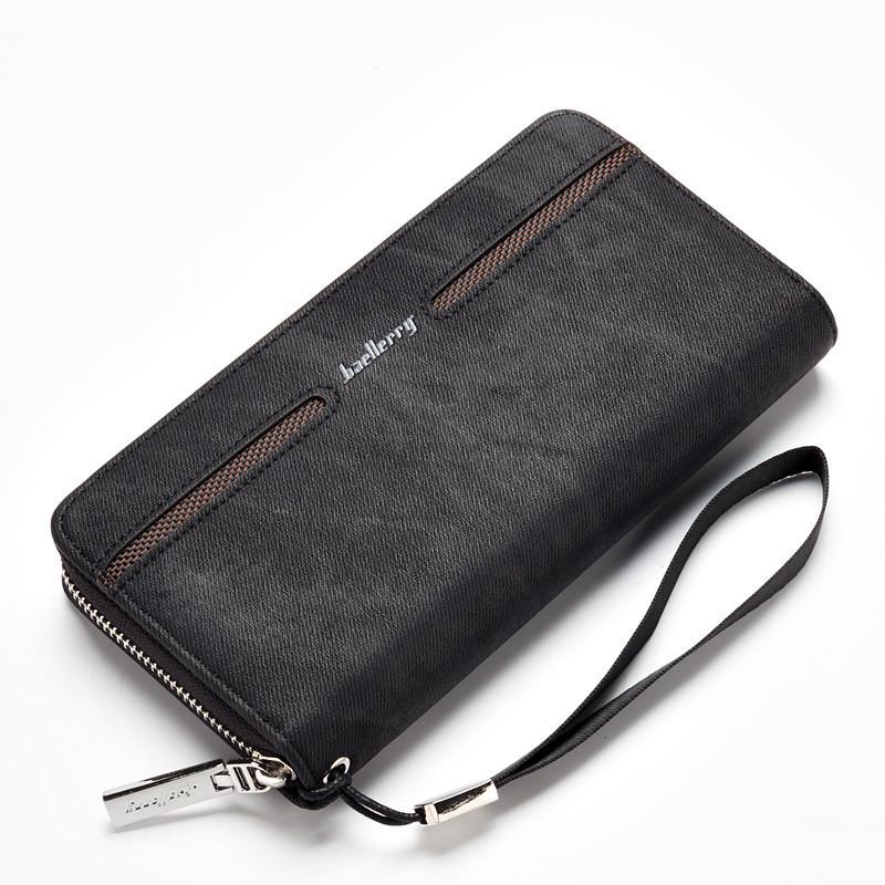 Портмоне, кошелек мужской Baellerry Denim S1512 черный