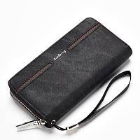 Мужской кошелек, портмоне Baellerry Denim Model 2 черный