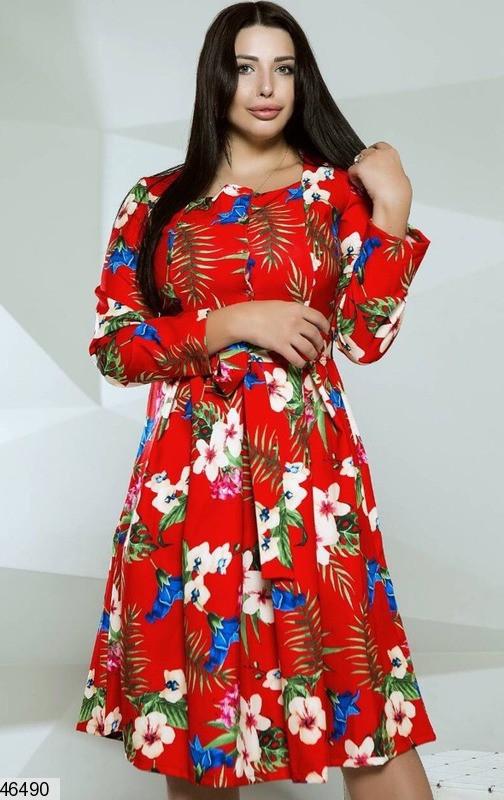 Плаття жіноче демісезонне розміри: 48-54