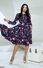 Плаття жіноче демісезонне розміри: 48-54, фото 3
