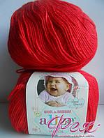 Пряжа детская Alize Baby Wool ( Ализе Беби Вул ) №56