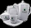 Чайный сервиз квадратный 4 предмета