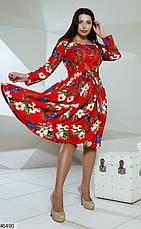 Платье женское демисезонное размеры: 48-54, фото 3