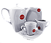 Чайный сервиз  рифленый 4 предмета