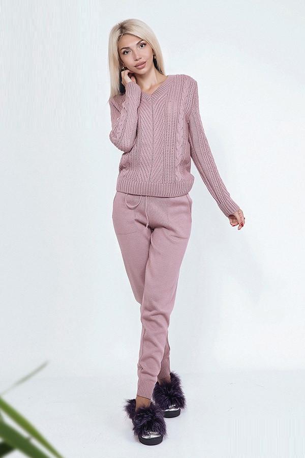 e1b2ffbde1a Вязаный спортивный костюм для женщин 39744 (42–48р)в расцветках. - Интернет