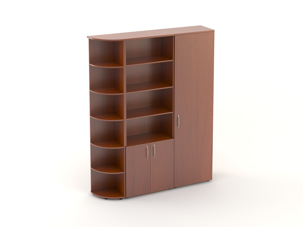 Комплект мебели для персонала серии Атрибут композиция №17 ТМ MConcept