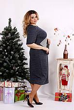 Элегантное женское платье демисезонное размеры:42-74, фото 3