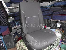 Автомобильные чехлы на Fiat Doblo new (5D), производитель АвтоМир